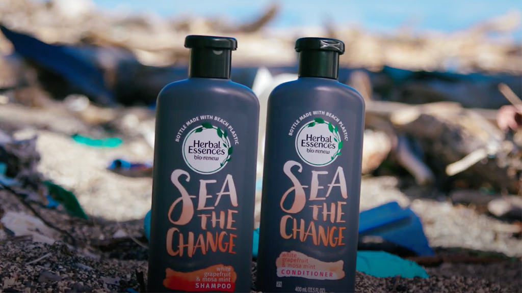 Herbal Essences' New Bottles Uses Plastic Recycled From Beaches