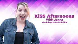KiSS Afternoons with Jenna